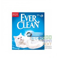 Ever Clean Extra Strong Clumping Наполнитель для кошачьего туалета, комкующийся, с формулой устранения паров аммиака, 6 л
