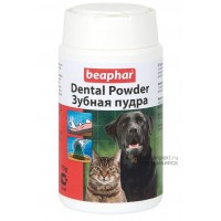 Beaphar Dental Powder Зубная пудра для кошек и собак, 75 г