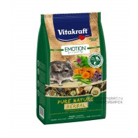 Vitakraft Pure Nature Herbal Корм для шиншилл, 600 г