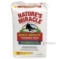 8 in 1 Nature's Miracle Quick Results Пеленки для собак и кошек, обучающие, 56*58 см, 30 штук
