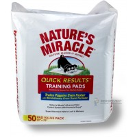 8 in 1 Nature's Miracle Quick Results Пеленки для собак и кошек, обучающие, 56*58 см, 50 штук